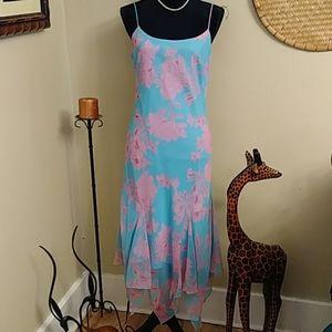 B. Darlin Blue and Pink Dress